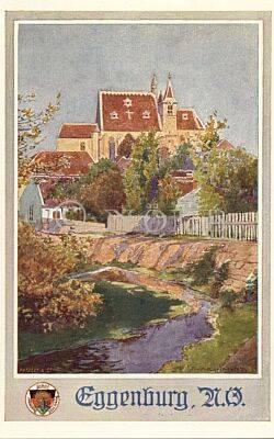 Eggenburg, N.Ö von Patzelt & Co. / Rud. Schmidt rev. Kunstdruckerei von Josef Eberle, Wien, VII., Schottenfeldg 38