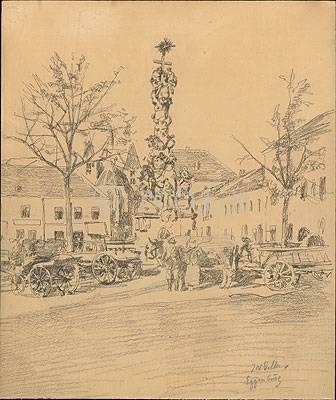 Eggenburg von J N Geller