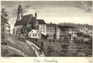 Der Annaberg. von J.Hollnsteiner del. / A.Geiger sc.