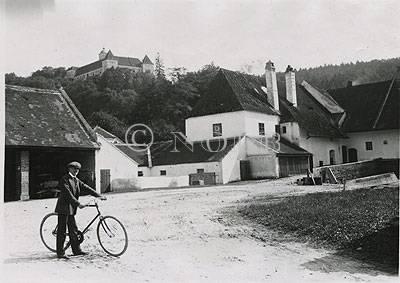rev. Anzendorf Schloß Schallaburg / Juli 1914. von Prof. Karl König Wien, Juli 1914.