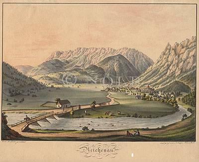 Reichenau. von Nach der Natur gezeichnet / und geätzt von A. Köpp v. Felsenthal.