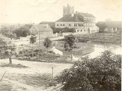 rev. Schloss Ratibor in Seebarn andere Hand: am Wagram bei Grafenwörth Nieder-Donau