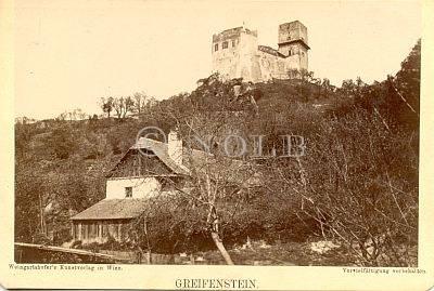 Greifenstein. von Weingartshofer's Kunstverlag in Wien.