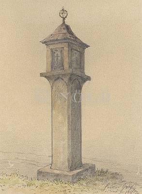 Zwettl, Marterl von Conrad Grefe 1895