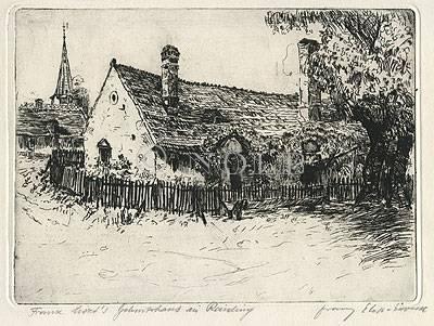 Franz Liszt´s Geburtshaus in Raiding von Franz Ela...?